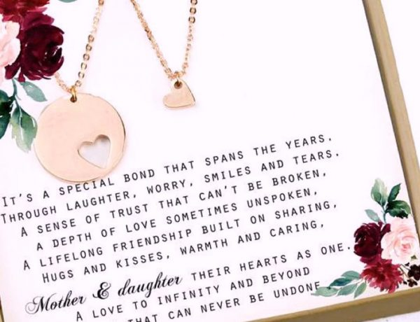 Matching Mother Daughter Heart Gifts
