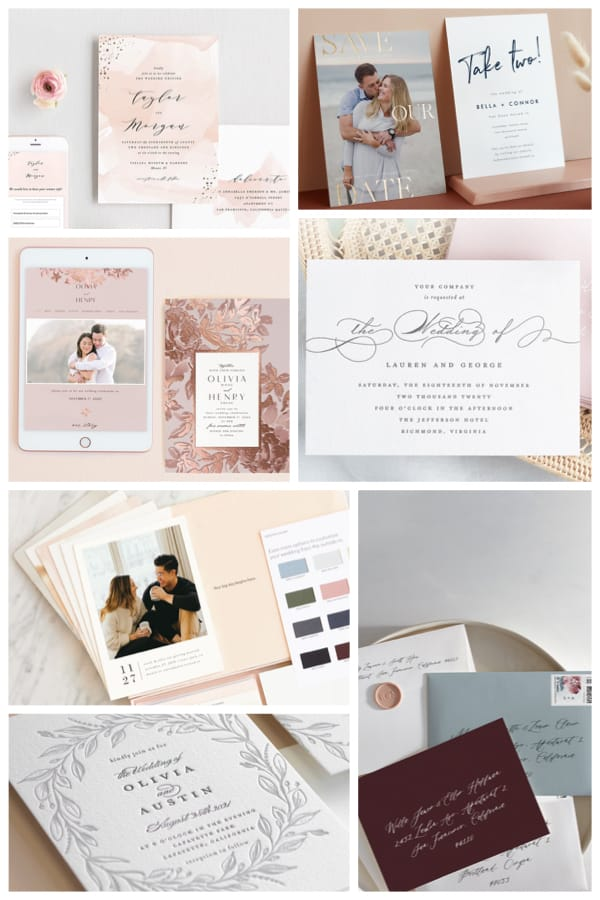 Wedding Stationery Suites