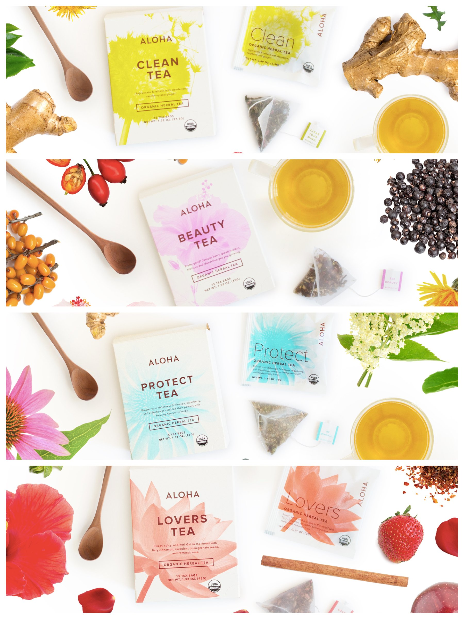Party Pretty >> Tea to Purify, Beautify, Fortify & Electrify!
