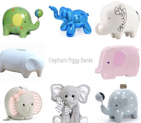 Elephant Piggy Banks