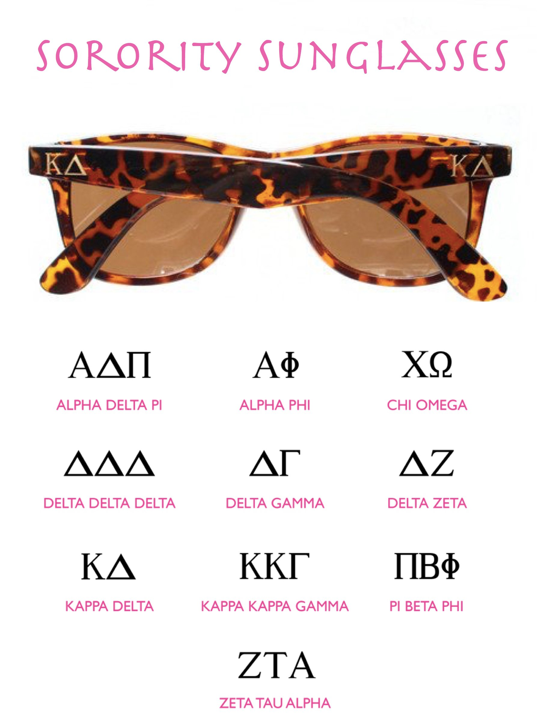 Sorority Sunglasses