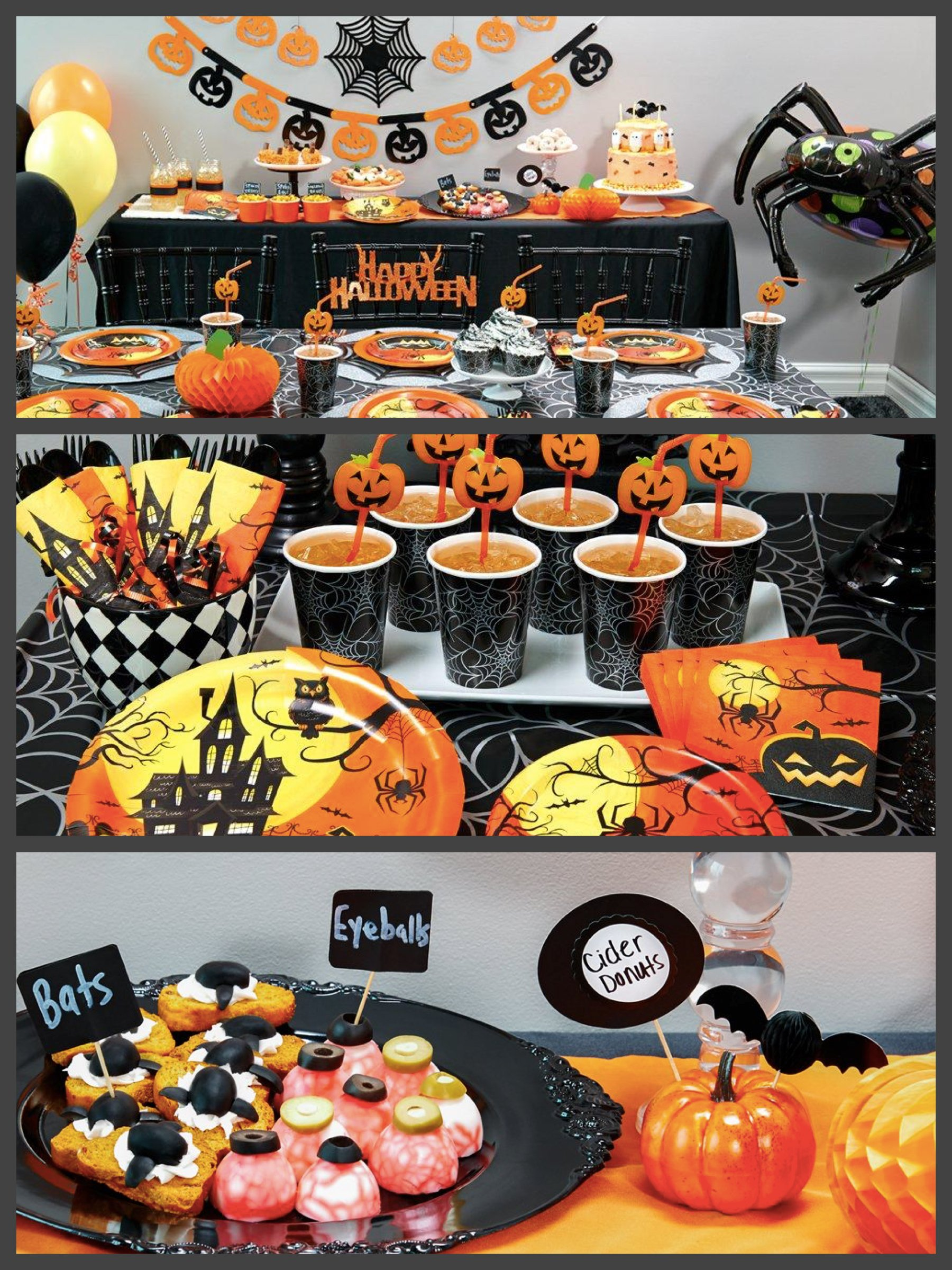 Spook-tacular Halloween Party Supplies