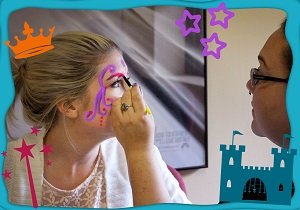 DIY Halloween Glow Face Paint Free eGuide Princess Painting