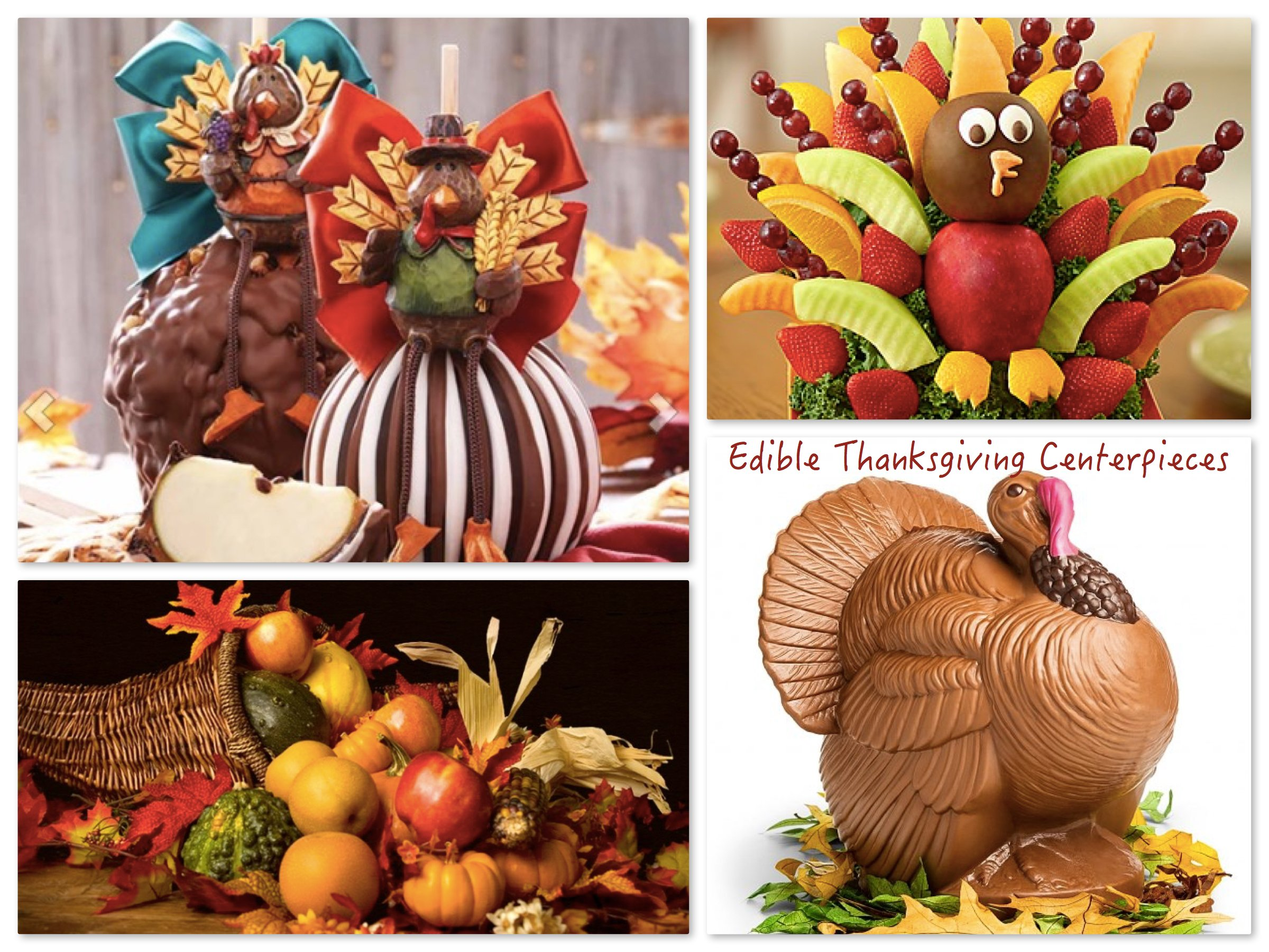 Bissingers Chocolate Turkey Centerpiece