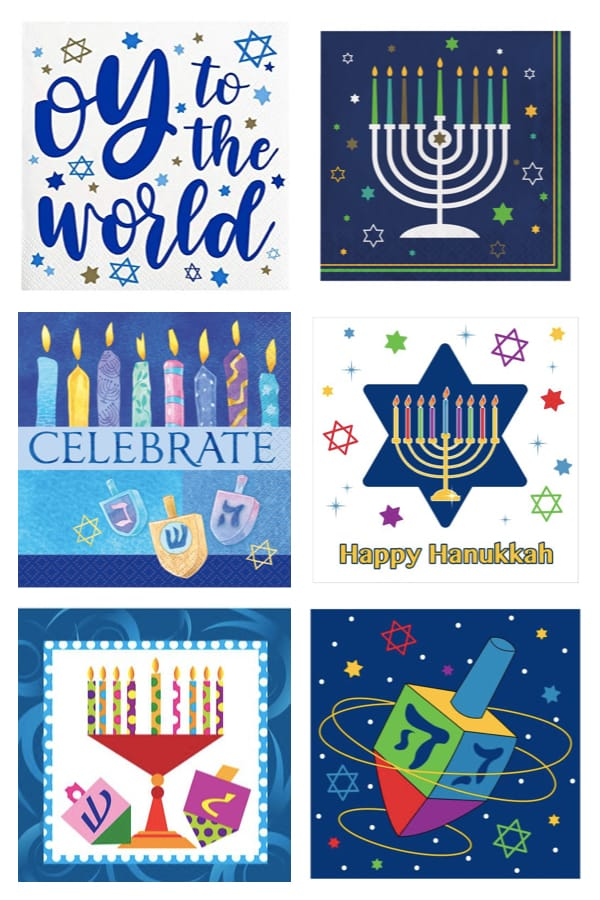 Hanukkah Party Paper Napkins