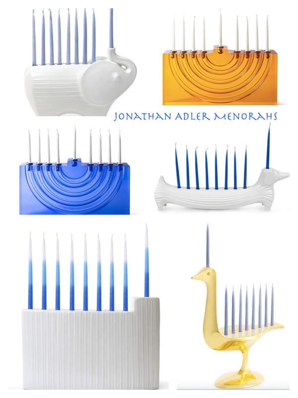 Jonathan Adler Menorahs