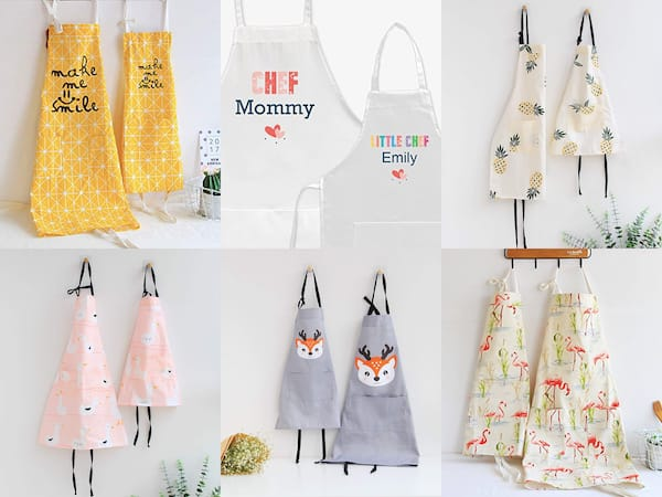 Mother-Daughter-Matching-Aprons