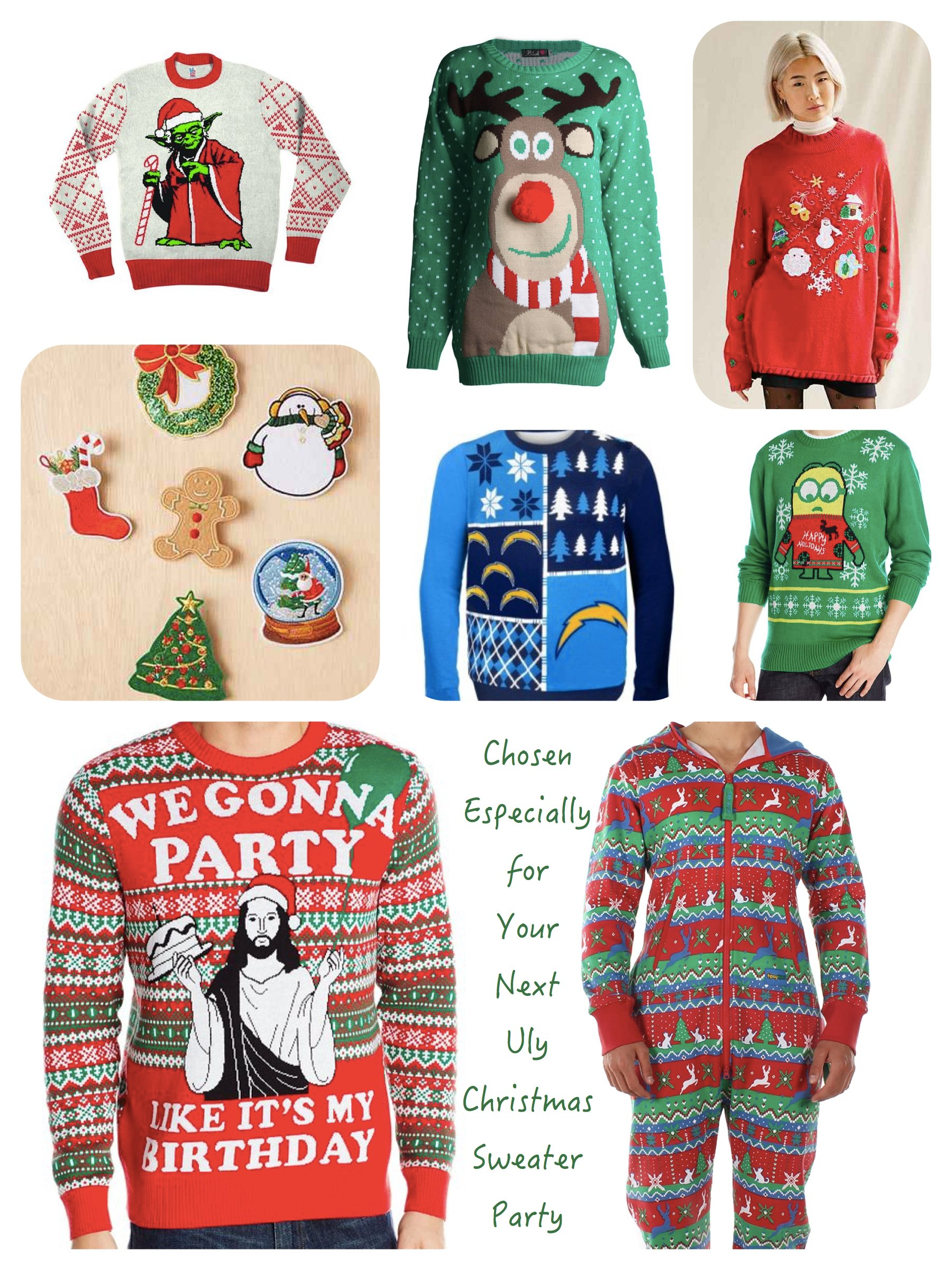 ugly christmas sweater party decorating ideas 58 - Ugly Christmas Sweater Party Decorations