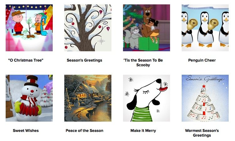 CHRISTMAS ECARDS & GREETING CARDS
