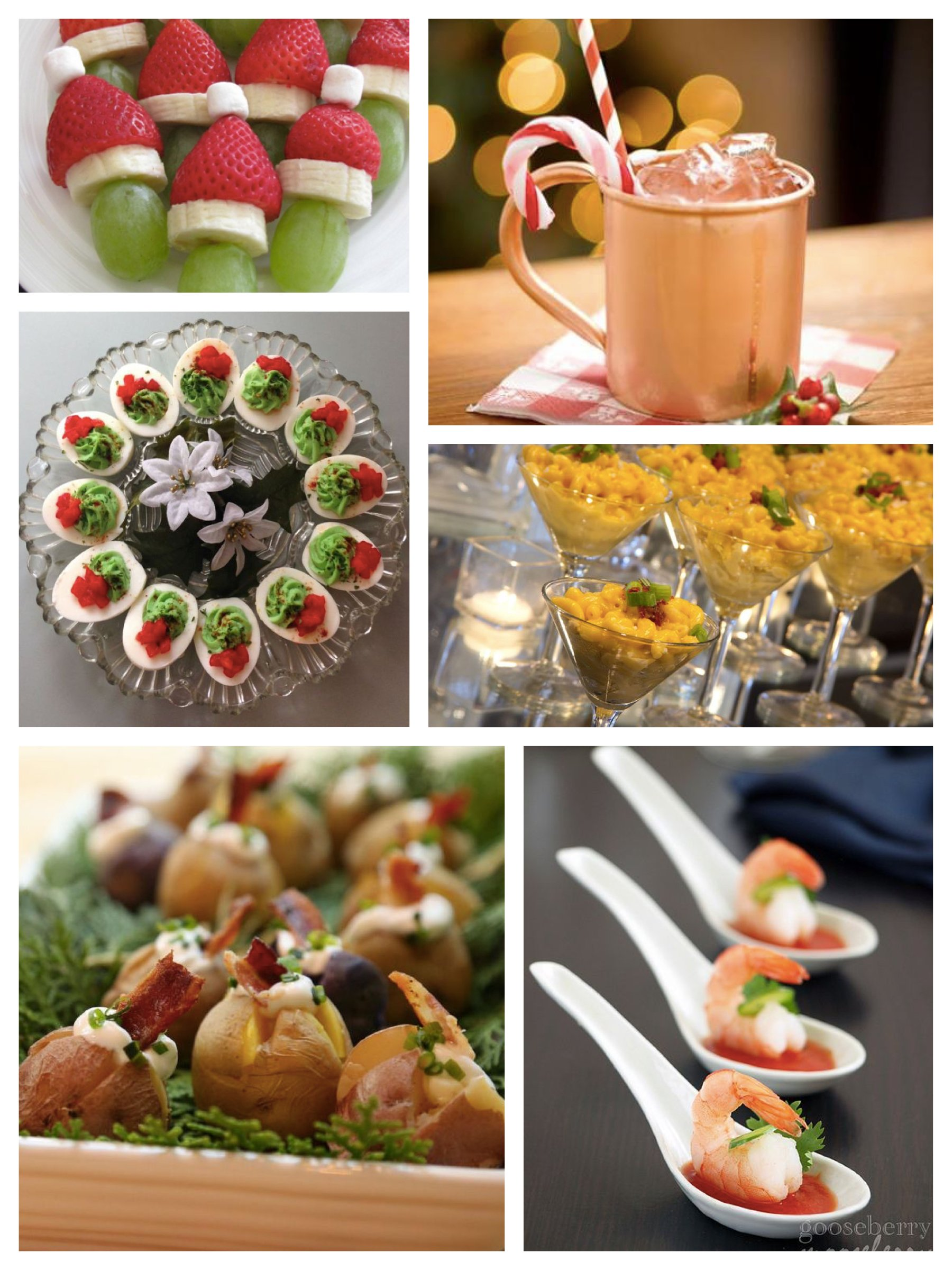 party snack ideas festive easy to make snacks food amp drink 13239