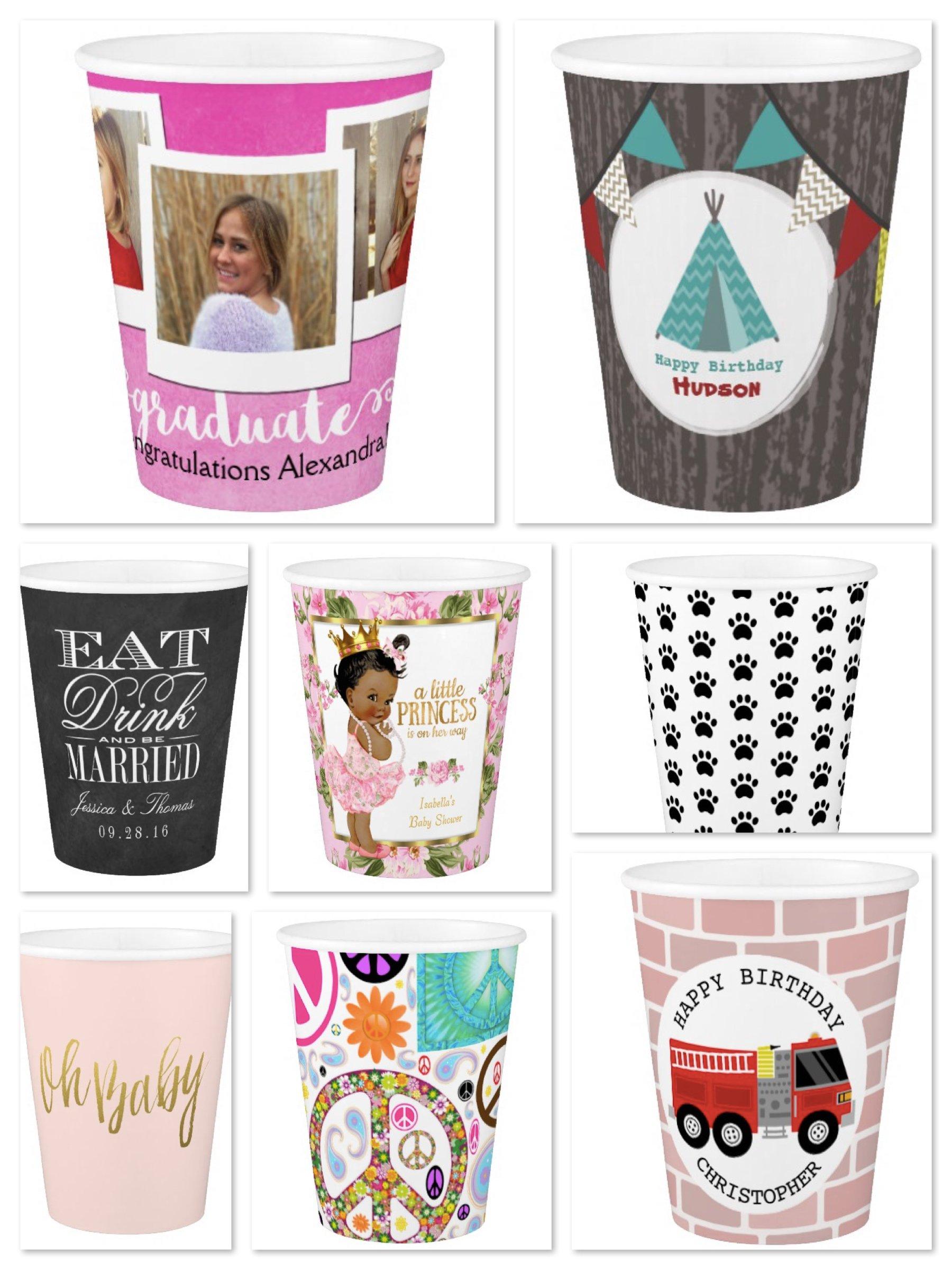 Custom Pape Cups