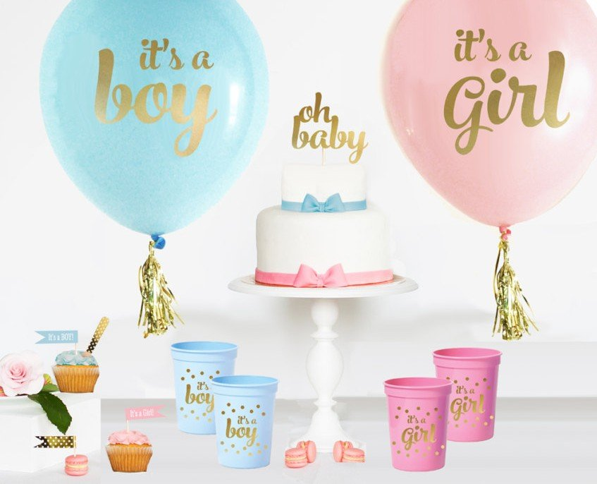 10 Baby Gender Reveal Party Ideas Baby Shower Partyideaproscom
