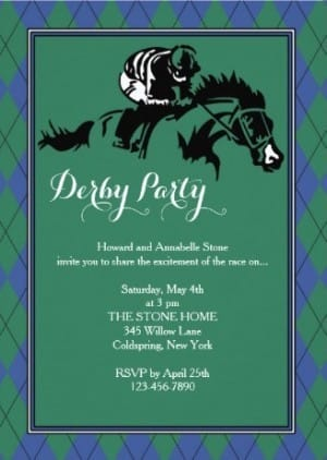 Argyle Horse Racing Invitations