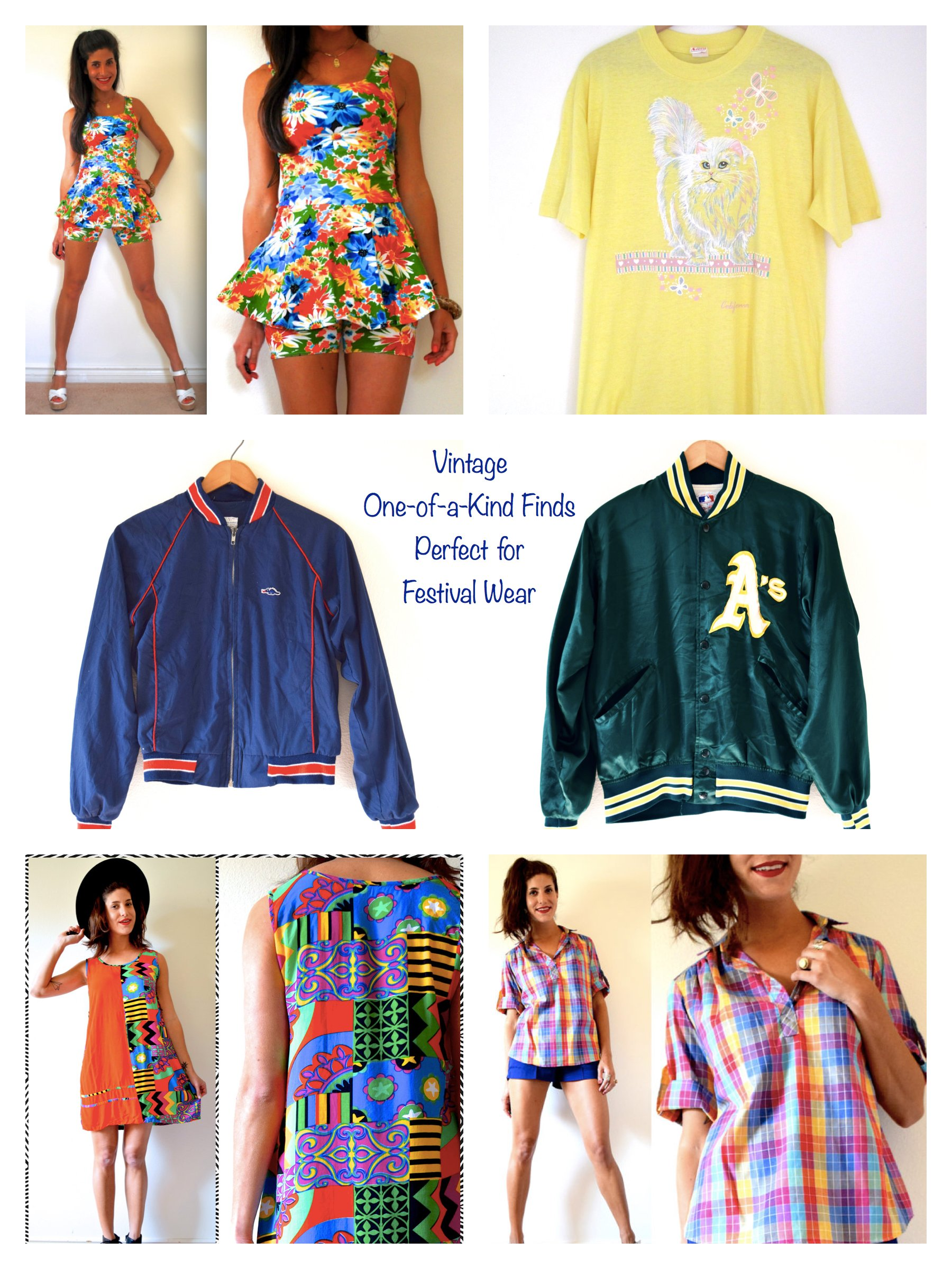 Vintage One-of-a-Kind Finds Perfect for Festival Wear
