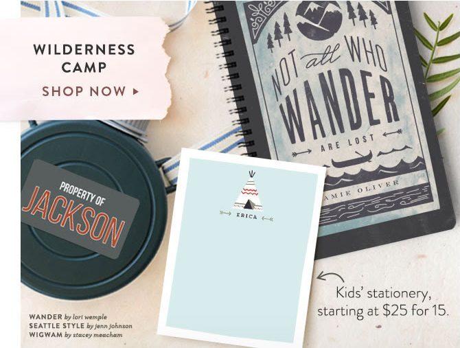 Wilderness Summer Camp Essentials