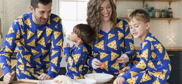 Family Matching Pizza Night PJs