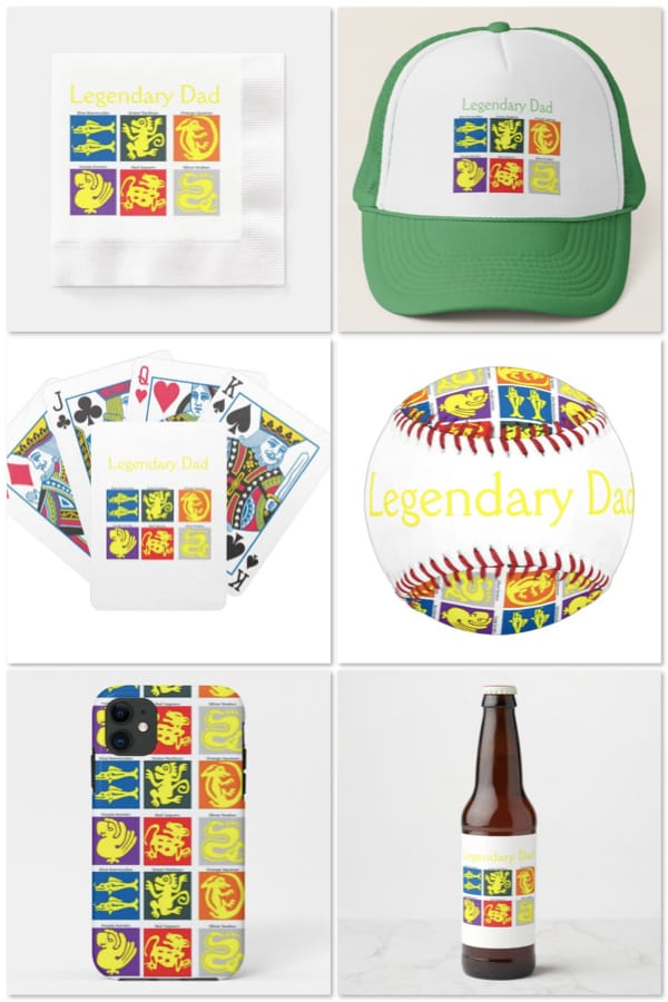 Legendary Dad Party Supplies and Gift Ideas