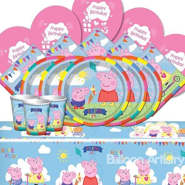Peppa Pig Childrens Happy Birthday Party Supplies