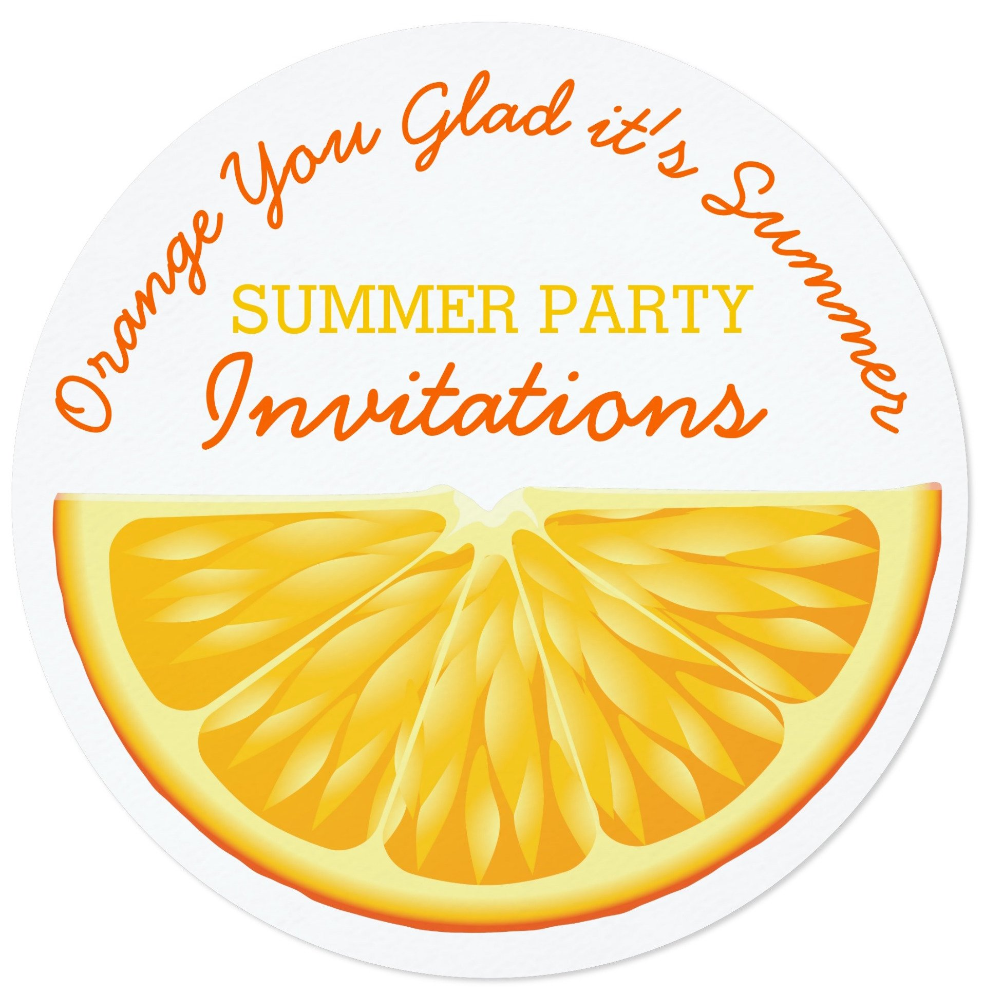 Celebrate Summer Party Invitations