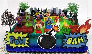 Superhero Cake Topper