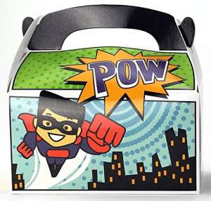 Superhero Party Favor Box