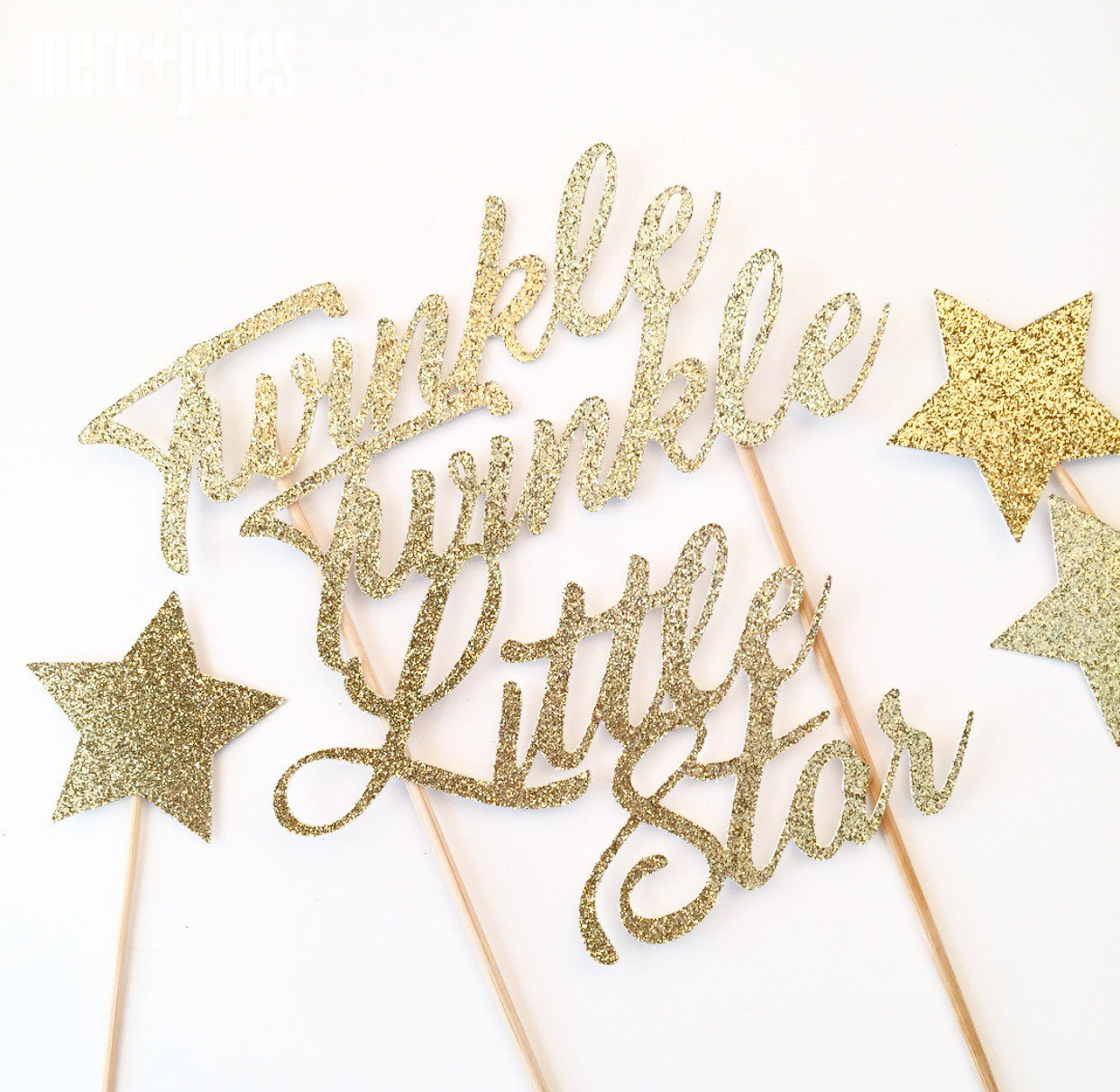 Twinkle Twinkle Little Star Cake Topper