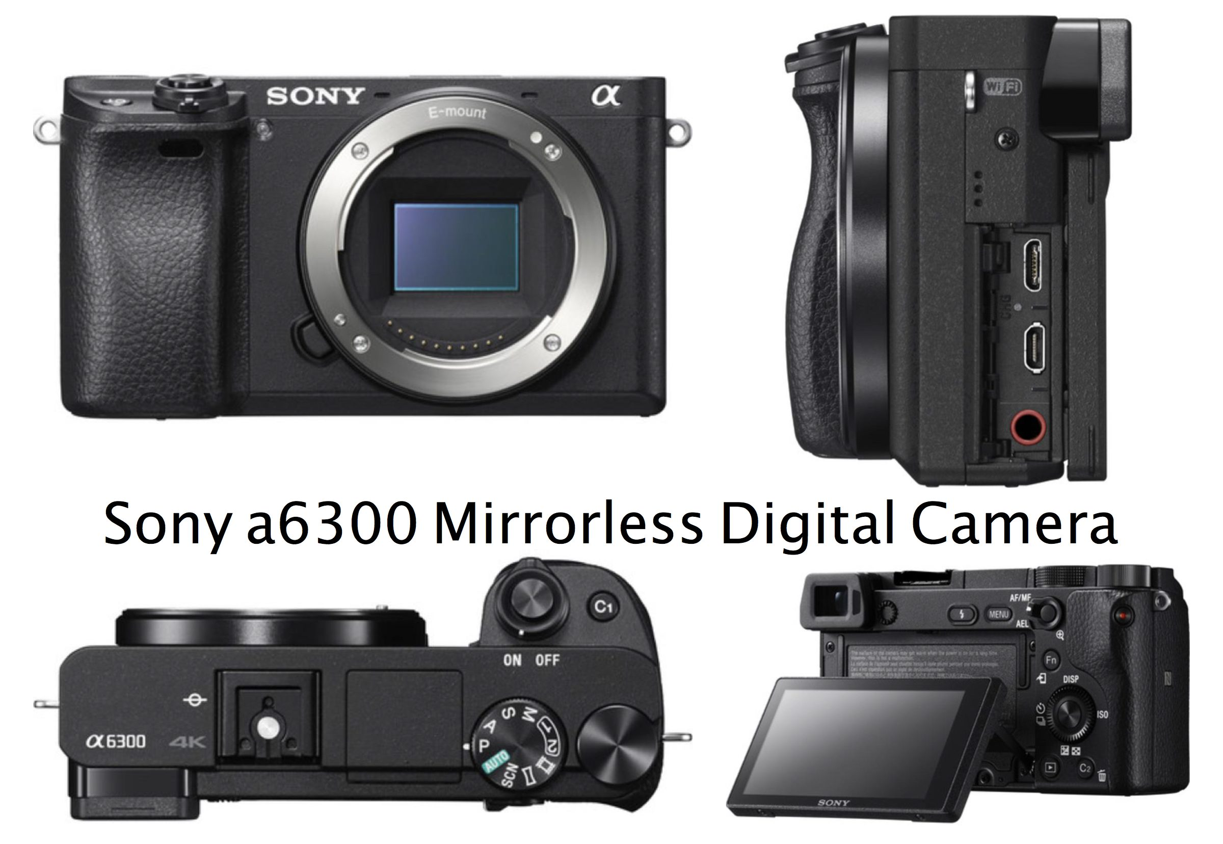 Rent Sony a6300 Mirrorless Digital Camera