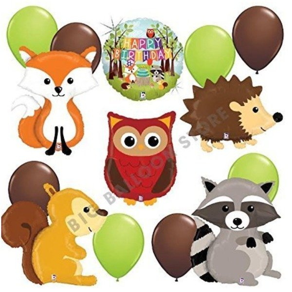 Owl Balloons Party Pack