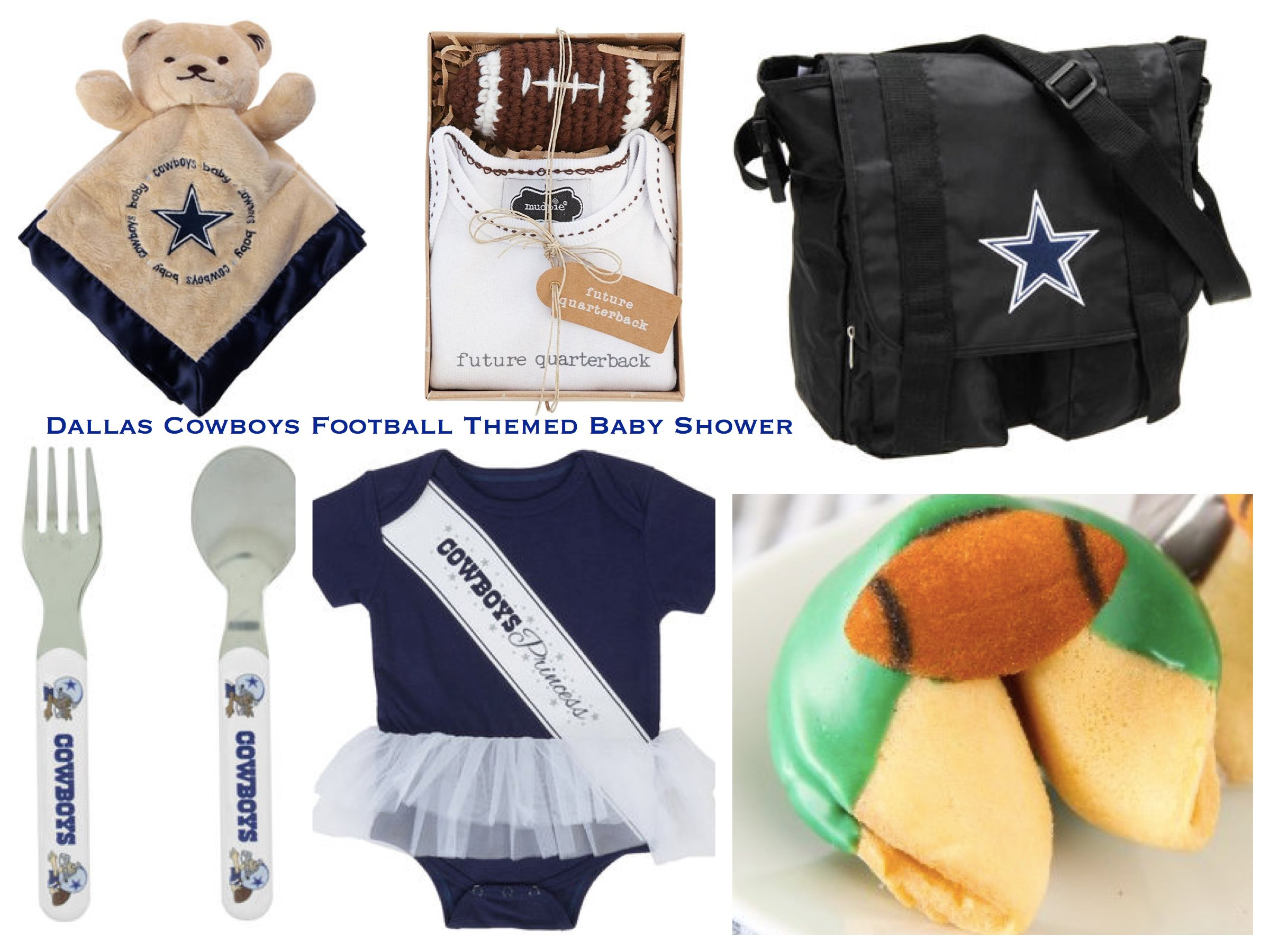 Dallas Cowboys Football Themed Football Baby Shower