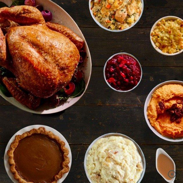Complete Turkey Dinner