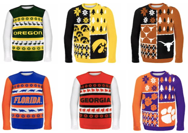 College Fan Ugly Team Spirit Sweaters
