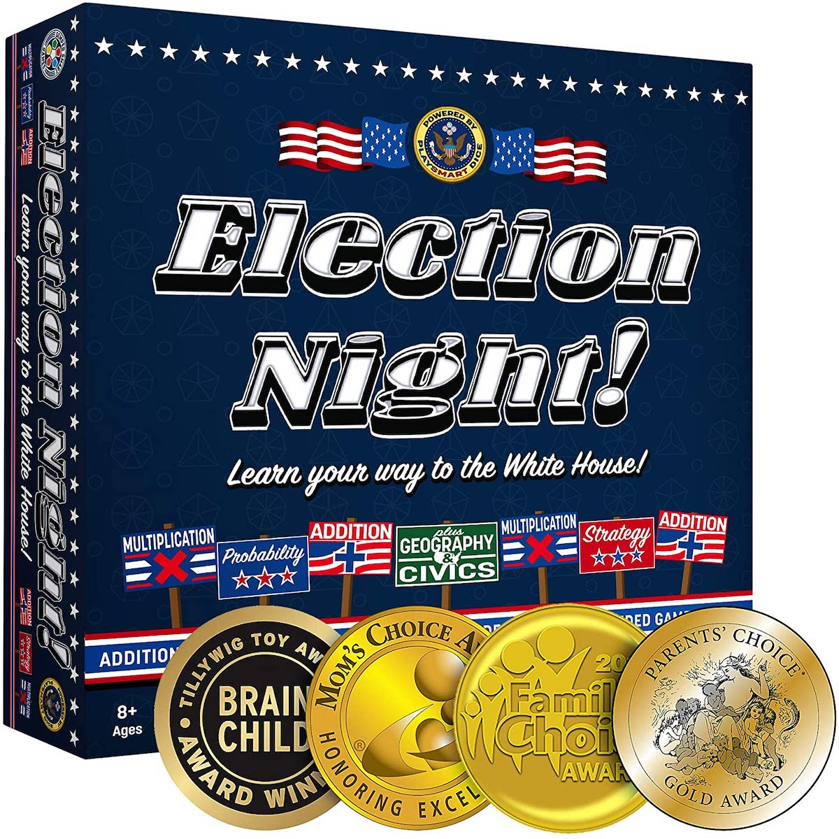 Election Night! Board Game - Winner of 2019 Parents Choice Gold Award