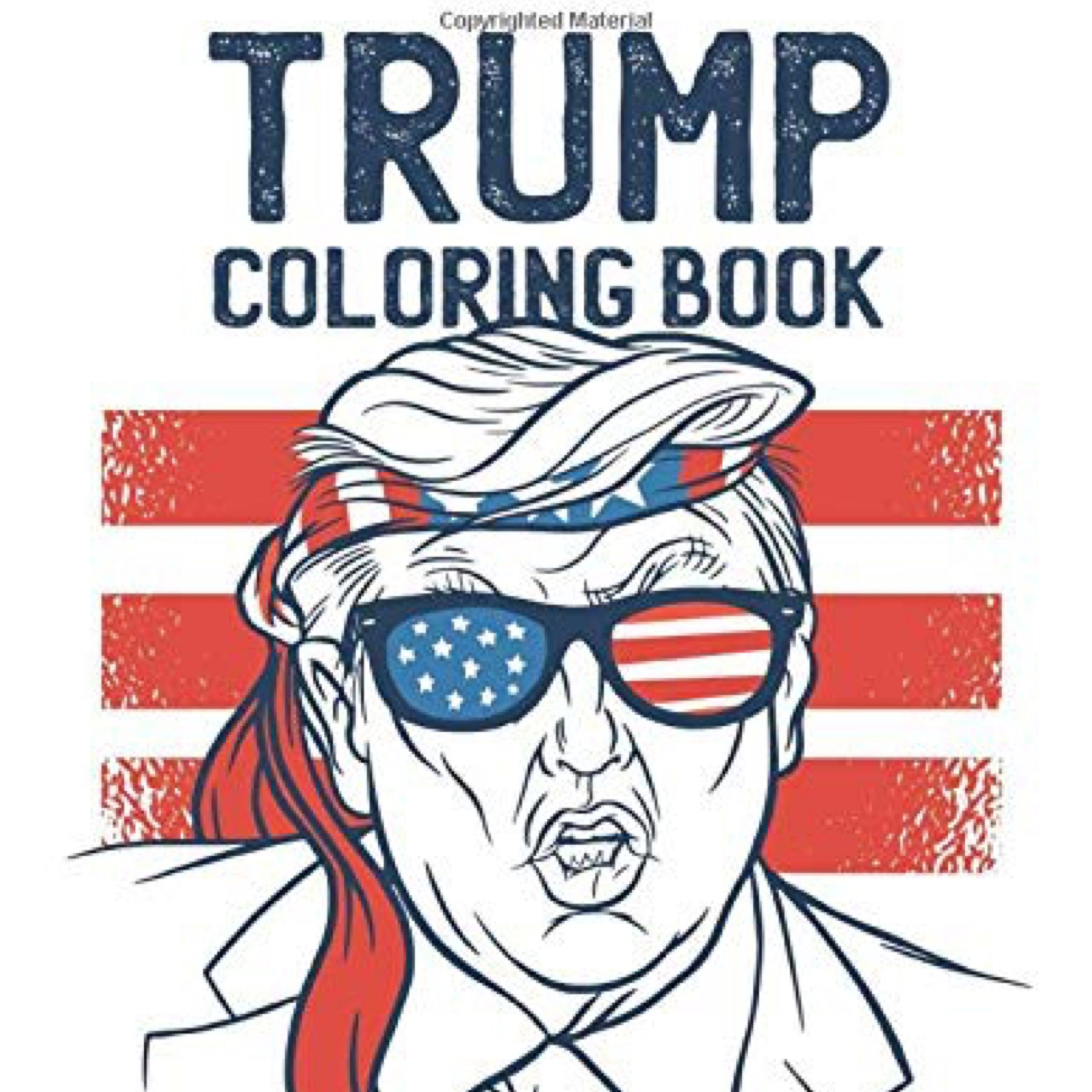 Trump Coloring Book 2020