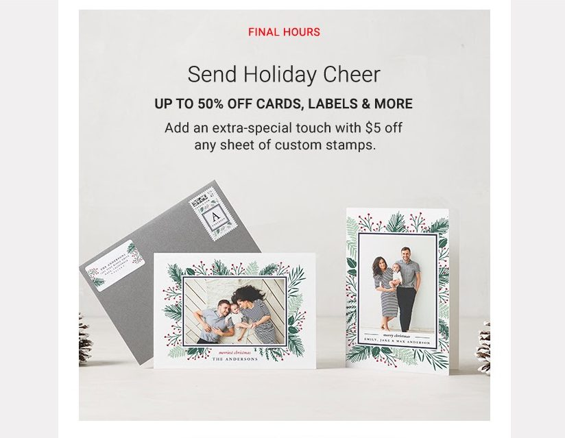 Zazzle Send Holiday Cheer Sale