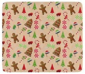 Gingerbread Man Christmas Cutting Board