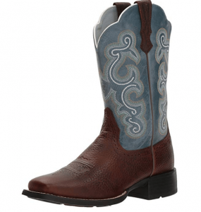 Blue Cowgirl Boot
