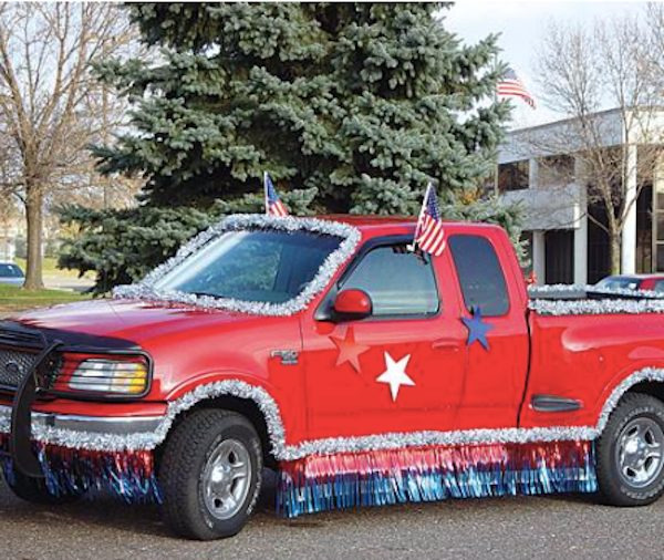 Patriotic Truck Parade Kit