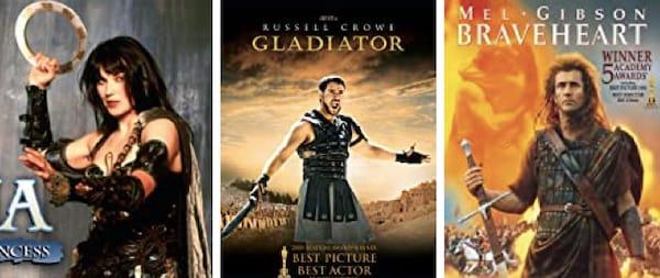 Xena Gladiator Braveheart