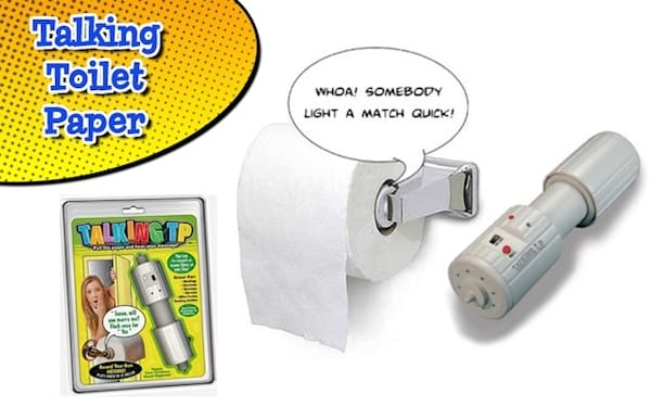 Favorite April Fools Day Prank - Talking Toilet Paper Dispenser