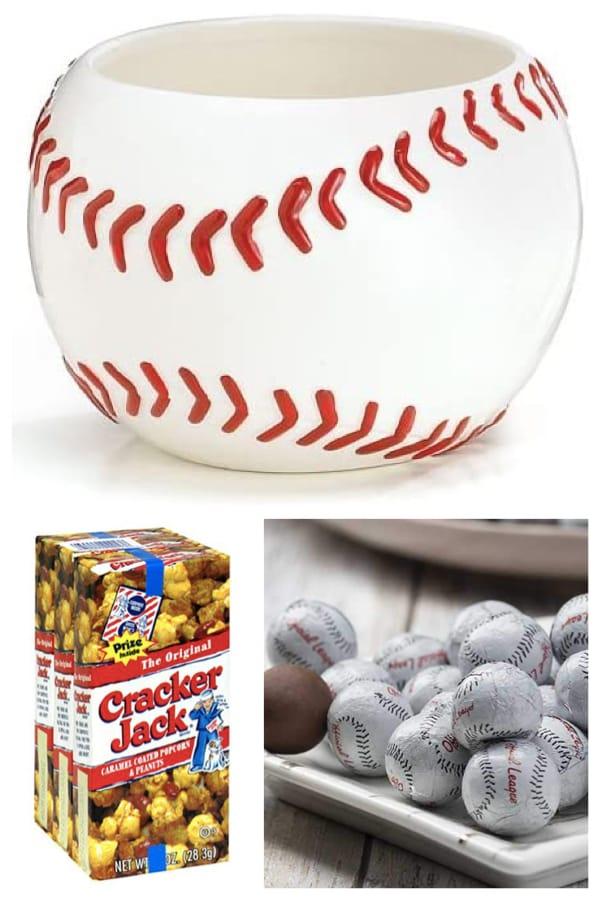DIY Baseball Party Centerpiece