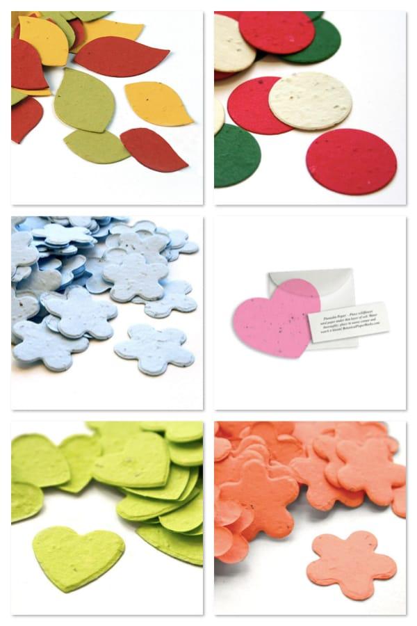 Plantable Seed Confetti