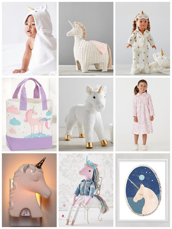 Unicorn Baby Shower and Birthday Gifts
