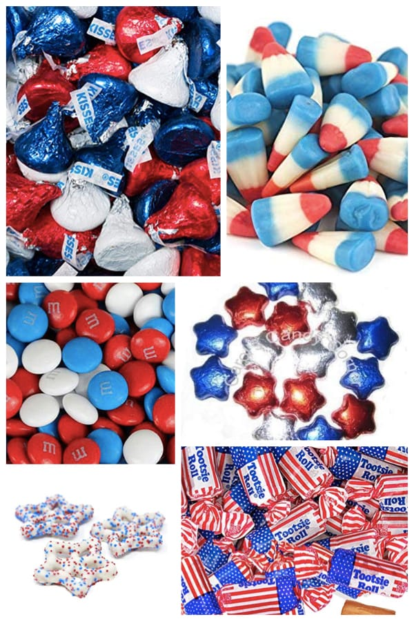 Patriotic Candy and Sweet Treats