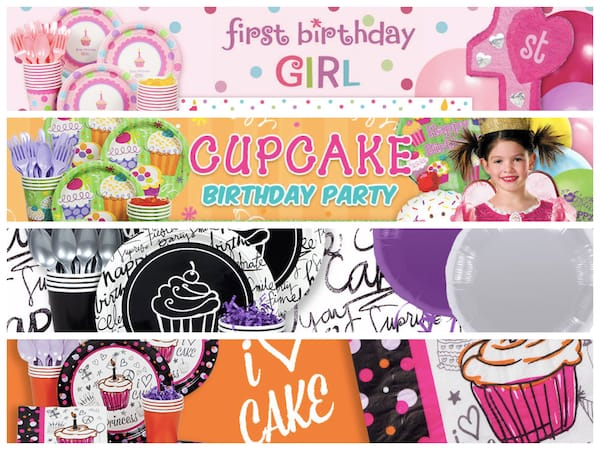 Cupcake Party Supplies