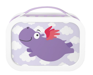 Hippo Lunch Box