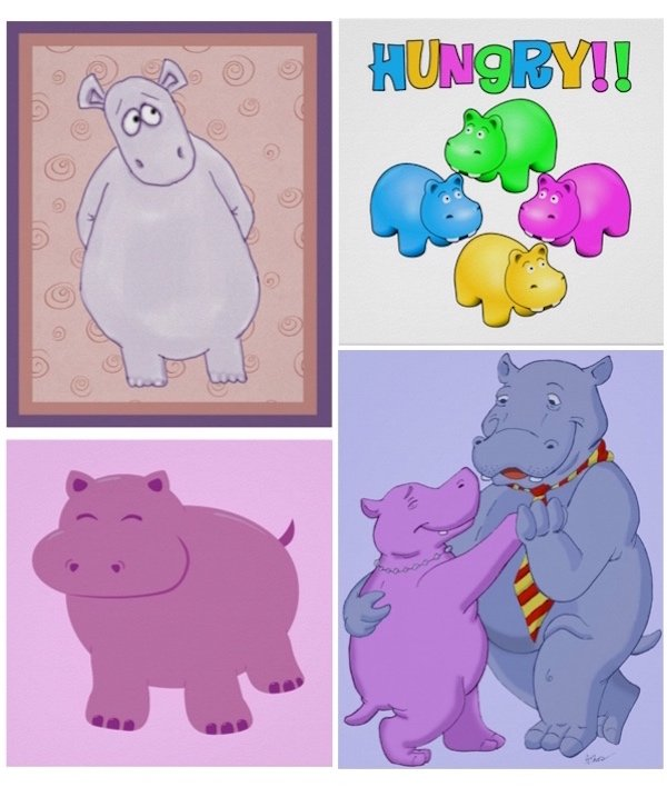 Hippo Posters