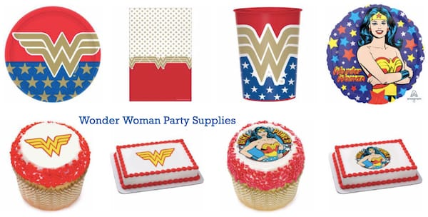 Wonder Woman Party Supplies