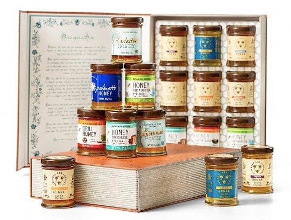 Savannah Bee Book of Honey Tasting Gift Set