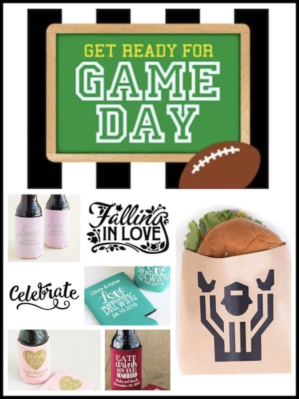 Tailgate & Celebrate A Couples Football Themed Wedding Shower