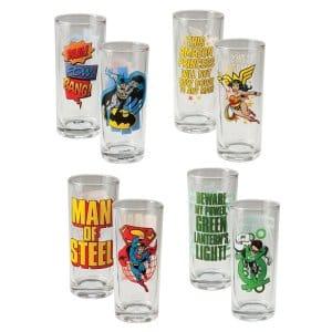 Comics Glass Set